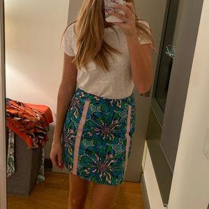 Lily Pulitzer Floral Mini Skirt